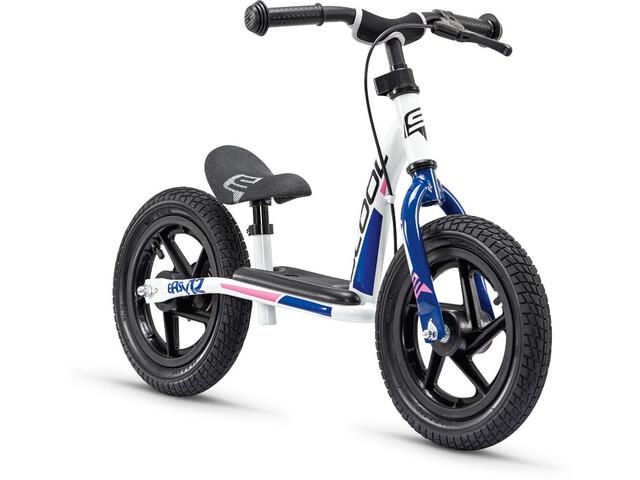 s'cool pedeX easy 12 Løbecykel Børn blå/hvid (2019) | Learner Bikes